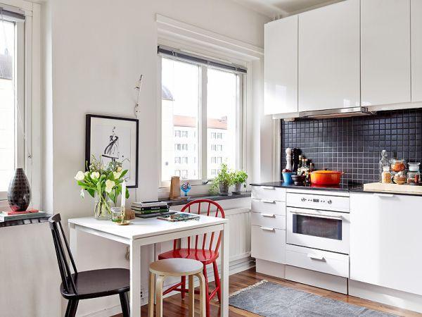 Cách bố trí nội thất cho căn hộ 25 mét vuông gọn gàng, xinh xắn 7