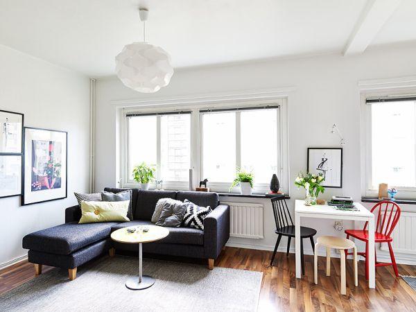 Cách bố trí nội thất cho căn hộ 25 mét vuông gọn gàng, xinh xắn 5