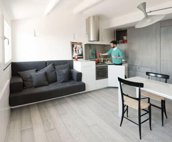 Ngắm căn hộ nhỏ nhưng tiện nghi của chàng độc thân 3