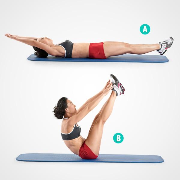 4 động tác giúp vùng bụng thon gọn bạn nên luyện tập  4