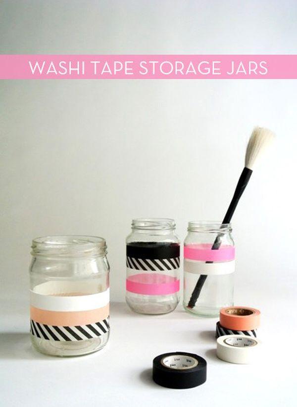 Làm mới không gian và đồ nội thất bằng băng dính Washi 10