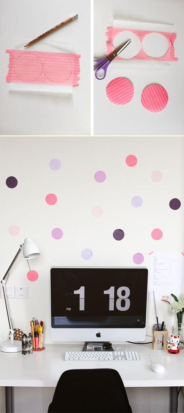 Làm mới không gian và đồ nội thất bằng băng dính Washi 6