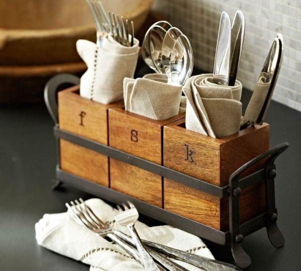 Những đồ gia dụng bằng gỗ