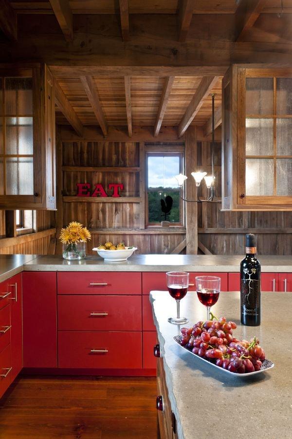 Mê mẩn với những phòng bếp màu sắc rực rỡ  2
