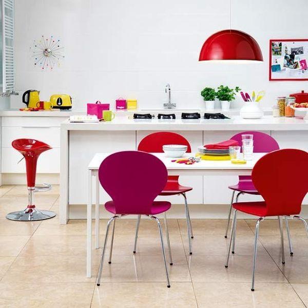 Mê mẩn với những phòng bếp màu sắc rực rỡ  6