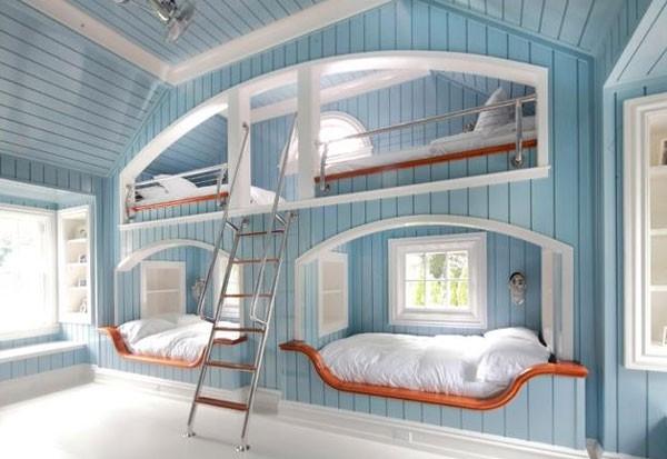 Phòng ngủ của bé siêu xinh với thiết kế giường tầng 1