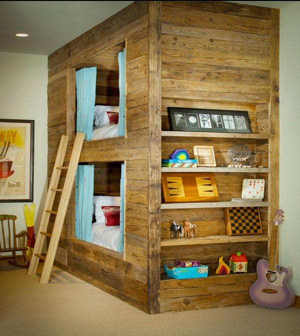Phòng ngủ của bé siêu xinh với thiết kế giường tầng 6