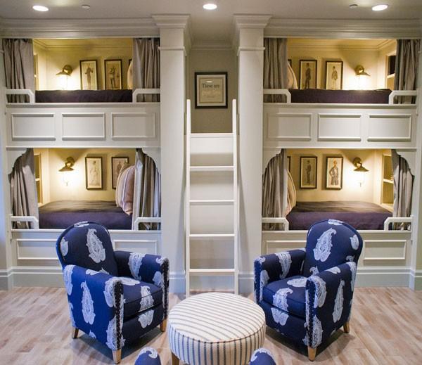 Phòng ngủ của bé siêu xinh với thiết kế giường tầng 8