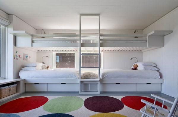 Phòng ngủ của bé siêu xinh với thiết kế giường tầng 9