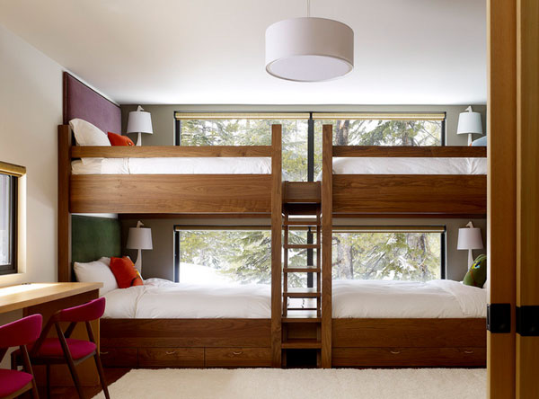 Phòng ngủ của bé siêu xinh với thiết kế giường tầng 5