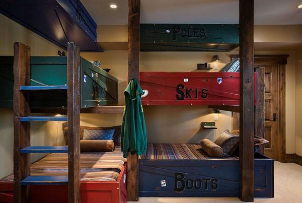 Phòng ngủ của bé siêu xinh với thiết kế giường tầng 2