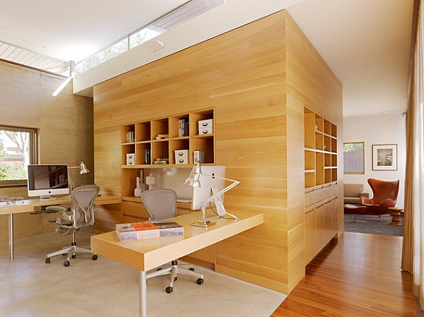 Những ý tưởng sáng tạo cho phòng làm việc tại gia (P.2) 7
