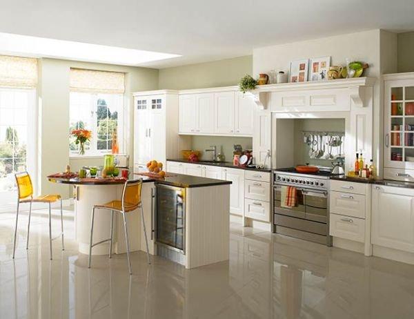 Trắng - Gam màu hot dành cho phòng bếp năm 2014 7