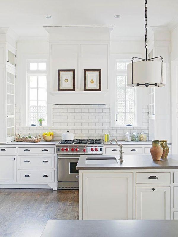 Trắng - Gam màu hot dành cho phòng bếp năm 2014 9