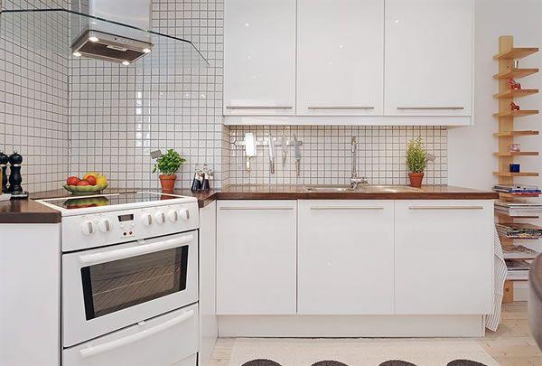 Trắng - Gam màu hot dành cho phòng bếp năm 2014 11