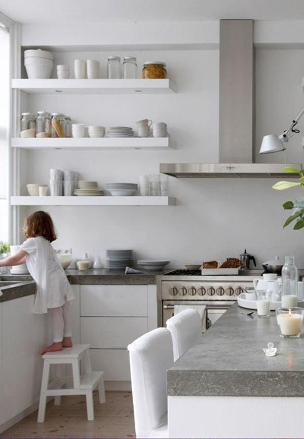 Trắng - Gam màu hot dành cho phòng bếp năm 2014 12