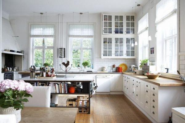 Trắng - Gam màu hot dành cho phòng bếp năm 2014 1