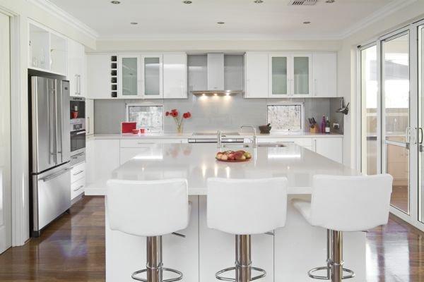 Trắng - Gam màu hot dành cho phòng bếp năm 2014 4
