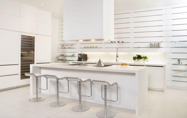 Trắng - Gam màu hot dành cho phòng bếp năm 2014 5