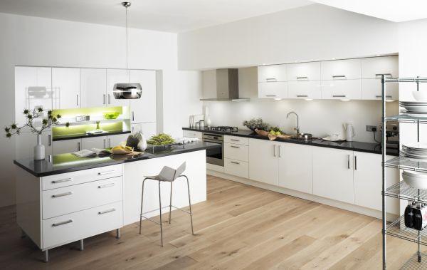Trắng - Gam màu hot dành cho phòng bếp năm 2014 6