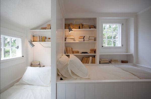Tiết kiệm diện tích phòng ngủ nhờ lưu trữ thông minh ở đầu giường 4