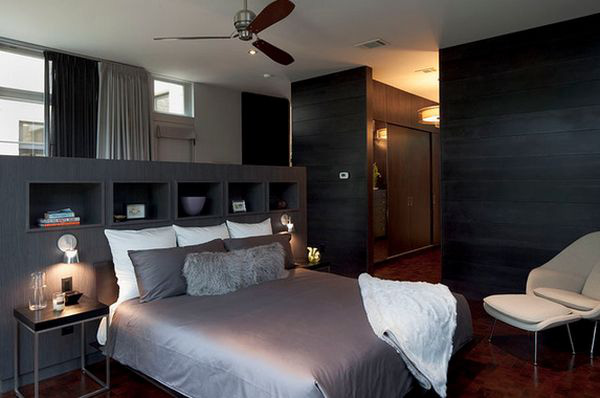 Tiết kiệm diện tích phòng ngủ nhờ lưu trữ thông minh ở đầu giường 6