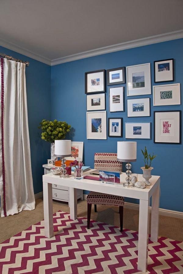 8 cặp màu sắc tuyệt vời cho phòng làm việc 8