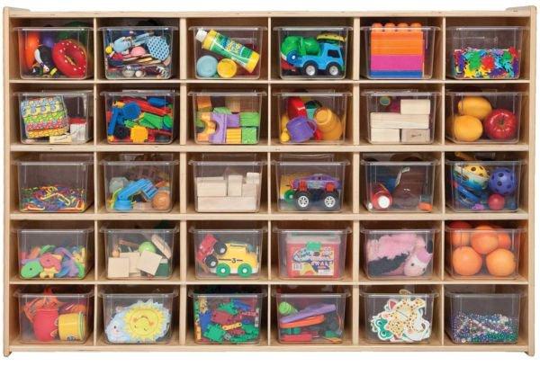 8 ý tưởng lưu trữ đồ chơi giúp phòng bé luôn gọn gàng 8