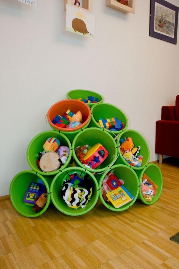 8 ý tưởng lưu trữ đồ chơi giúp phòng bé luôn gọn gàng 2