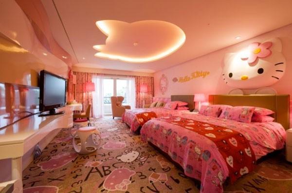 Không gian sống ngọt ngào hơn nhờ... chú mèo Hello Kitty 4
