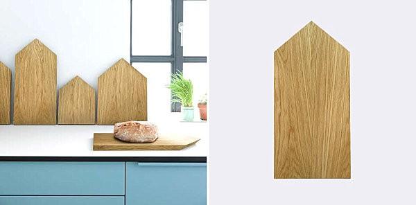 Không gian sống ấn tượng với đồ trang trí gỗ hình khối 2