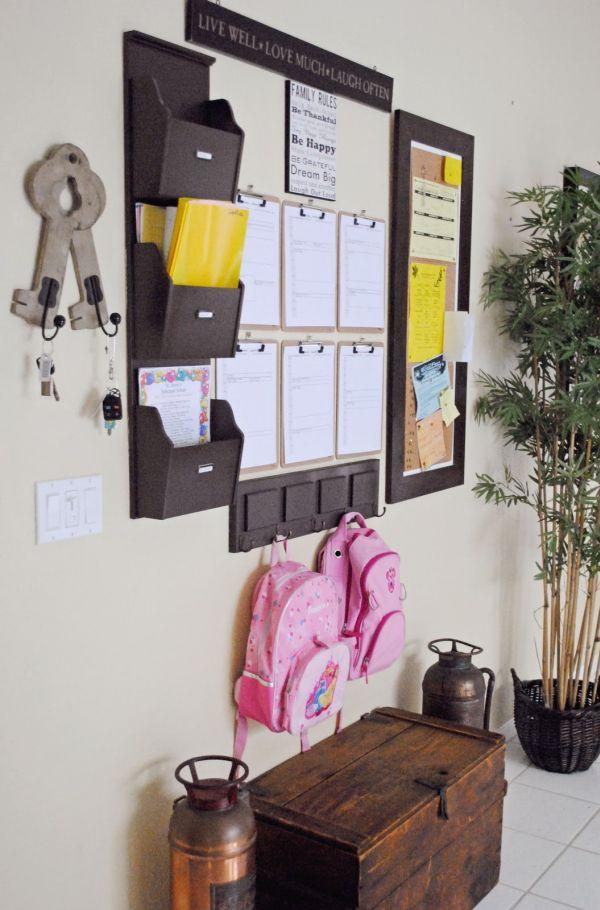 Mẹo lưu trữ thông minh cho tiền sảnh và phòng khách 3