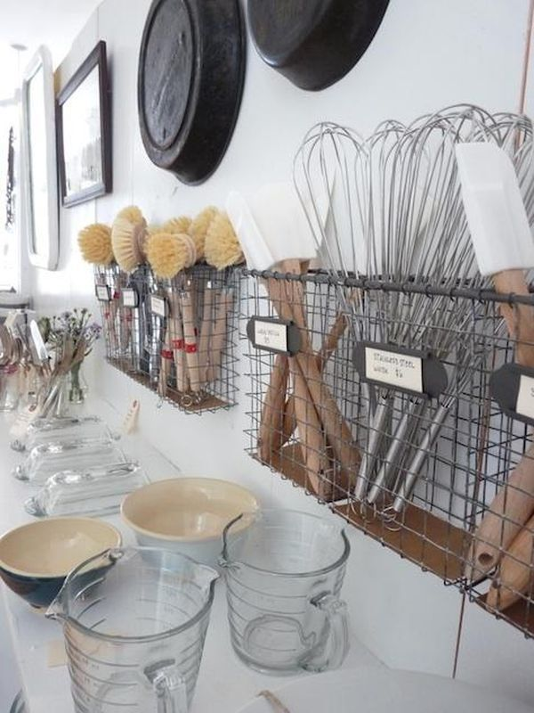 Phòng bếp gọn gàng nhờ mẹo lưu trữ, sắp xếp sáng tạo 10