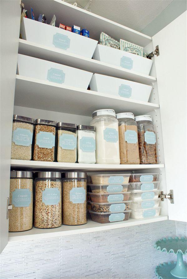 Phòng bếp gọn gàng nhờ mẹo lưu trữ, sắp xếp sáng tạo 1