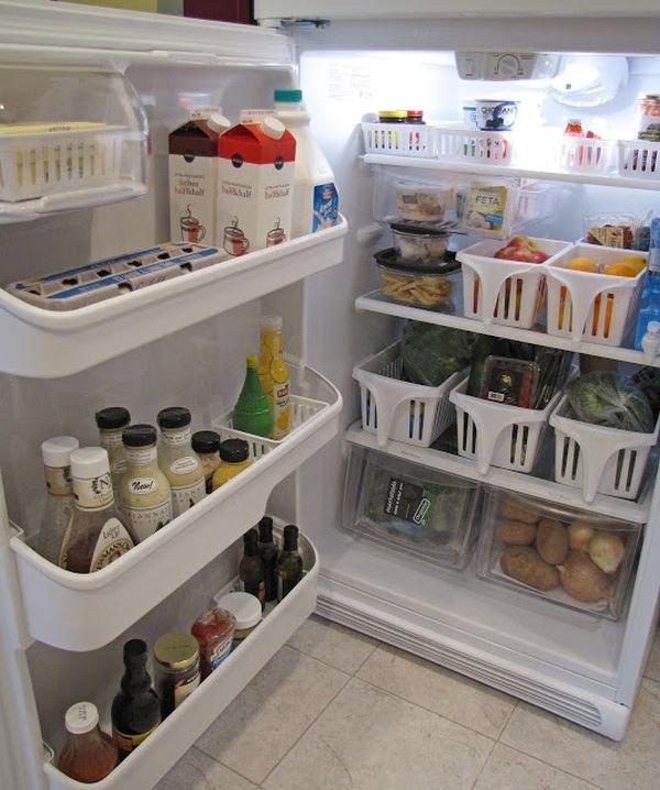 Phòng bếp gọn gàng nhờ mẹo lưu trữ, sắp xếp sáng tạo 13