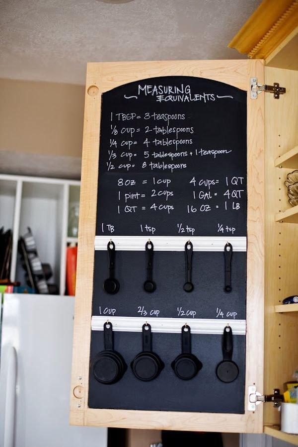Phòng bếp gọn gàng nhờ mẹo lưu trữ, sắp xếp sáng tạo 6