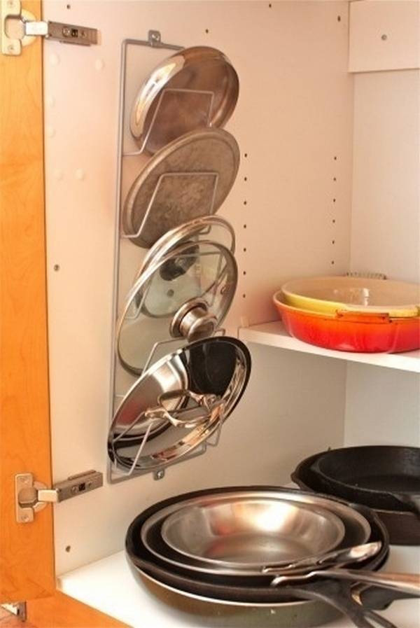 Phòng bếp gọn gàng nhờ mẹo lưu trữ, sắp xếp sáng tạo 7