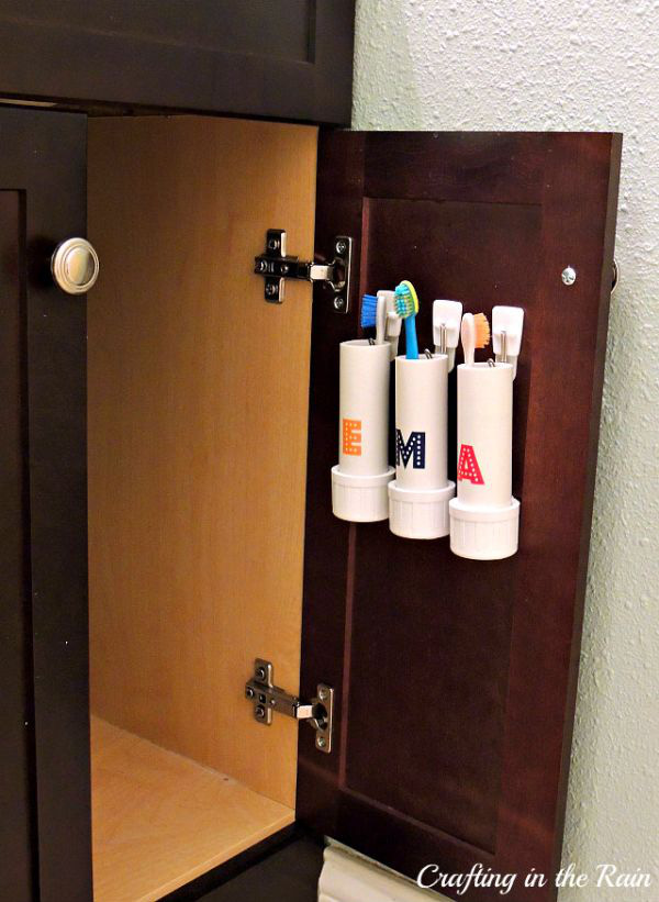 4 mẹo lưu trữ hoàn hảo cho phòng tắm nhỏ 5
