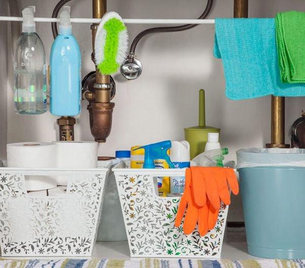 4 mẹo lưu trữ hoàn hảo cho phòng tắm nhỏ 1