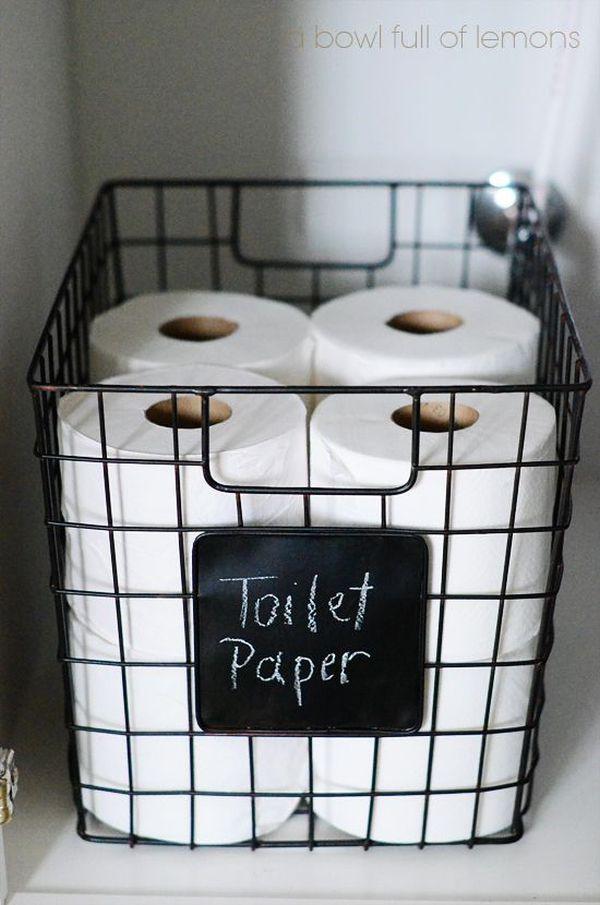 4 mẹo lưu trữ hoàn hảo cho phòng tắm nhỏ 6