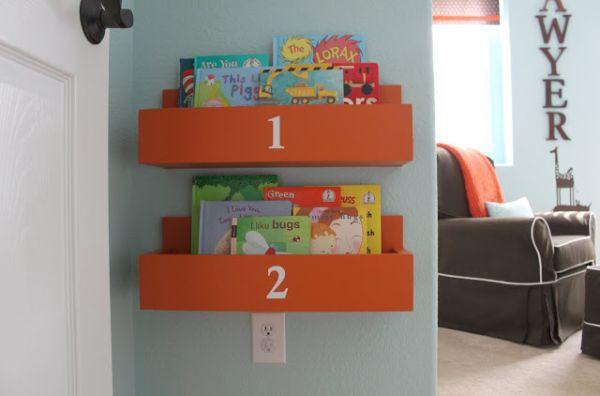 Mẹo lưu trữ để phòng trẻ luôn ngăn nắp 5