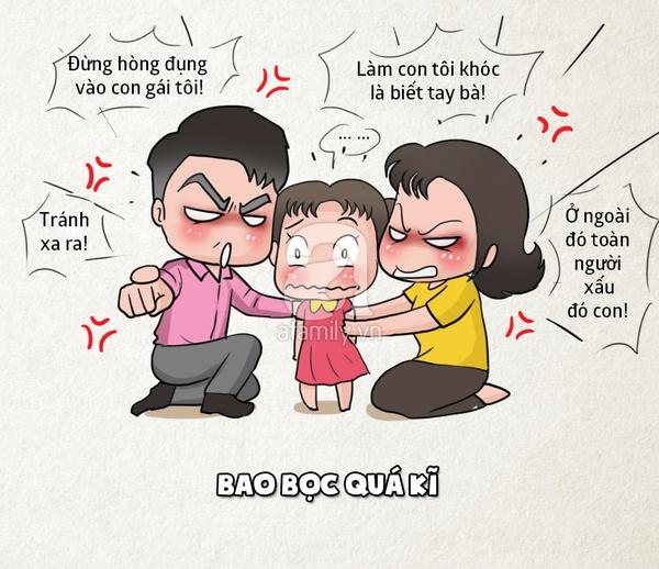 Sai lầm của bố mẹ Việt khi nuôi dạy con