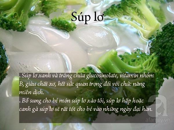 Thực phẩm giữ ấm trong những ngày lạnh