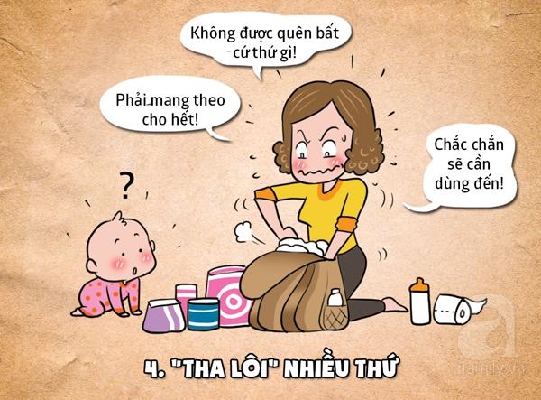 Bệnh khó chữa của những mẹ bỉm sữa