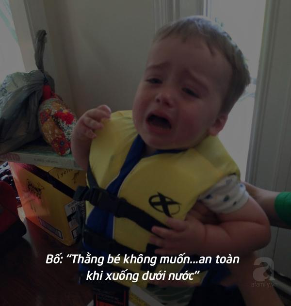 Trẻ khóc lóc