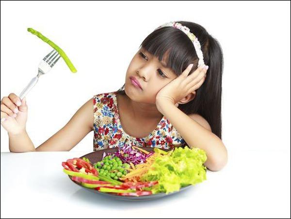 Lười ăn rau