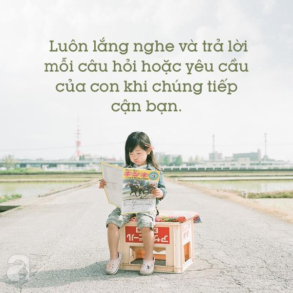 Lời khuyên dạy con