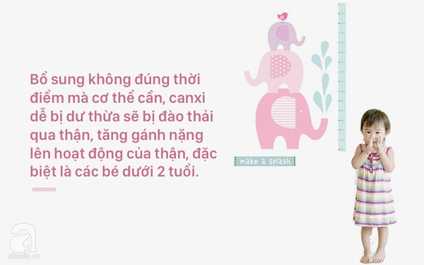 Bổ sung canxi tro trẻ