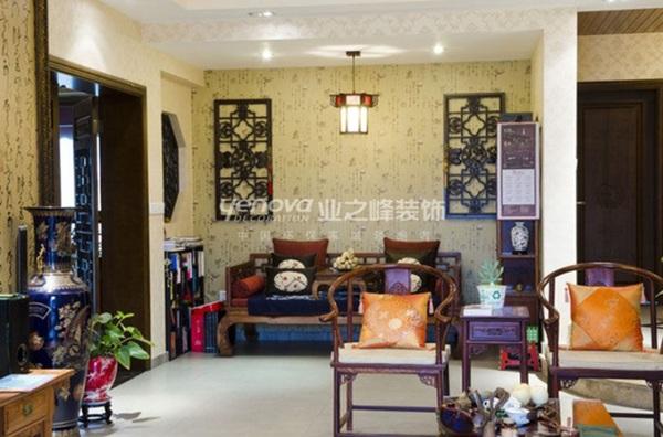 3 ý tưởng bài trí phòng khách theo phong cách Trung Hoa 2