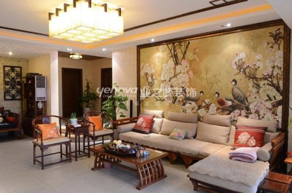 3 ý tưởng bài trí phòng khách theo phong cách Trung Hoa 3